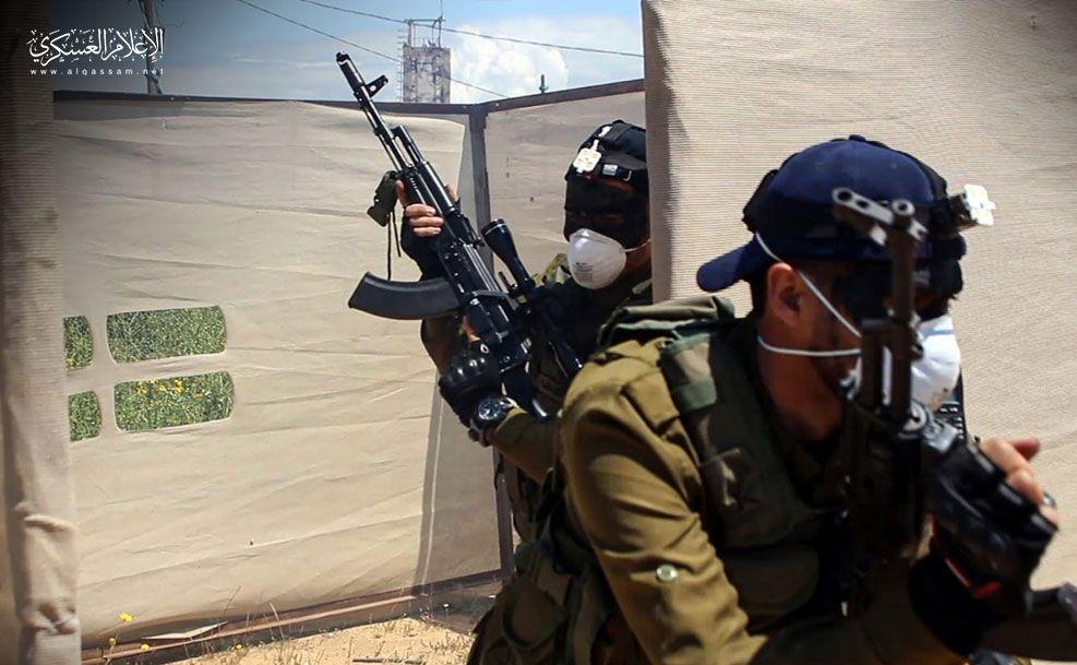 Hamas özel birliklerin fotoğraflarını yayınladı galerisi resim 1