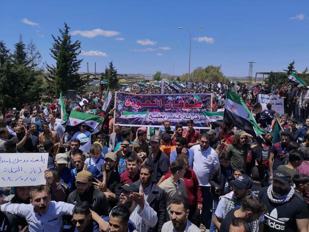 İdlib'te geri dönüş isyanı galerisi resim 10