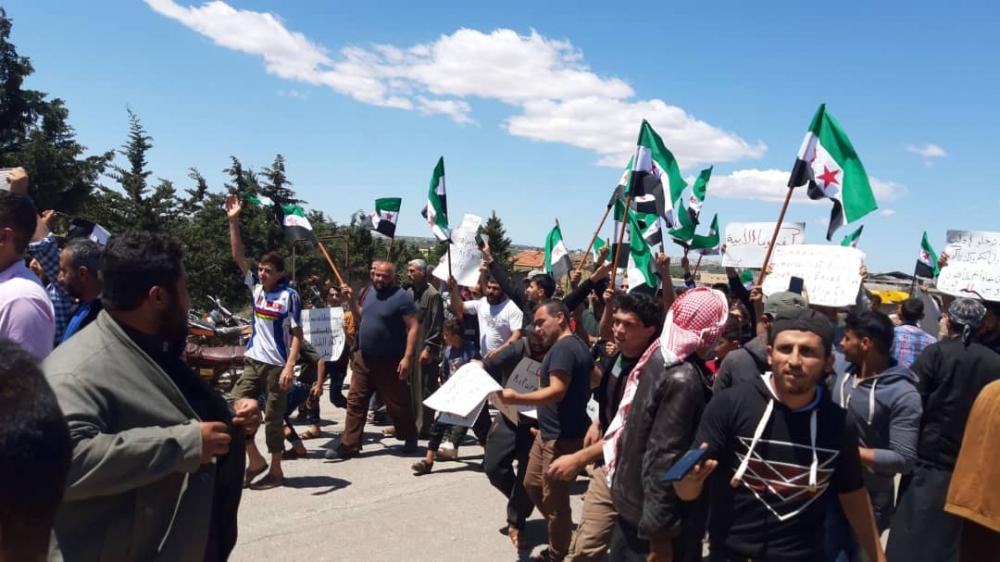 İdlib'te geri dönüş isyanı galerisi resim 13