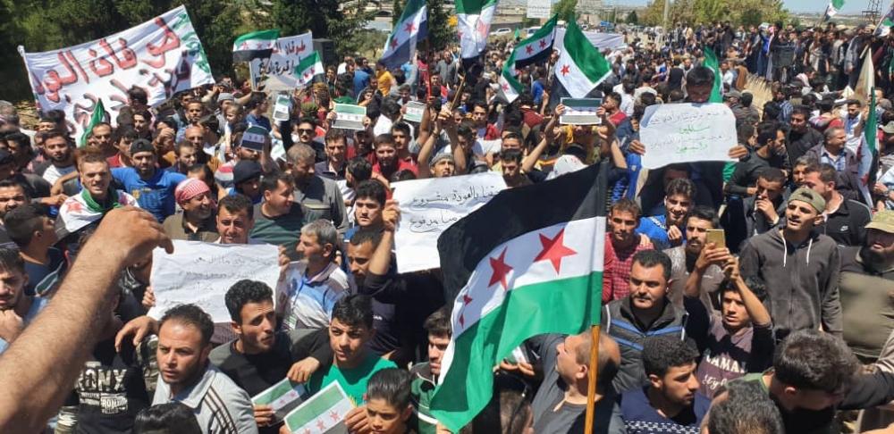 İdlib'te geri dönüş isyanı galerisi resim 14