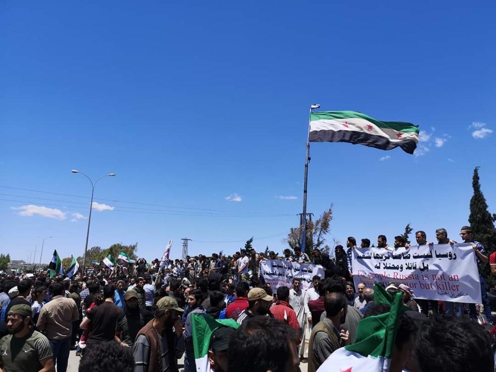 İdlib'te geri dönüş isyanı galerisi resim 15