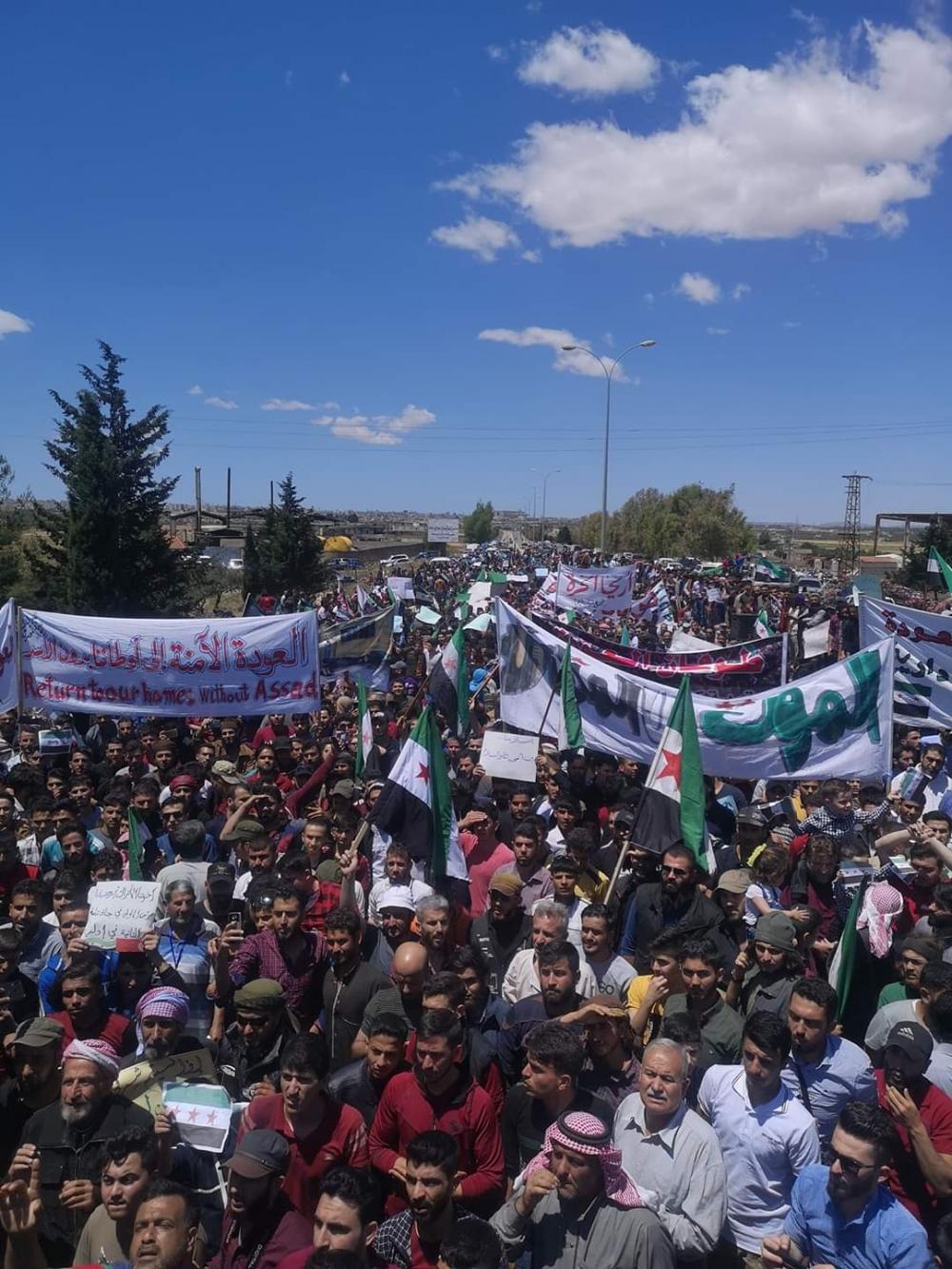 İdlib'te geri dönüş isyanı galerisi resim 8