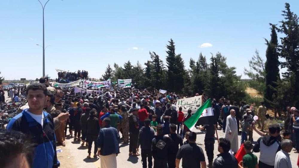 İdlib'te geri dönüş isyanı galerisi resim 9