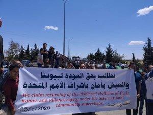 İdlib'te geri dönüş isyanı