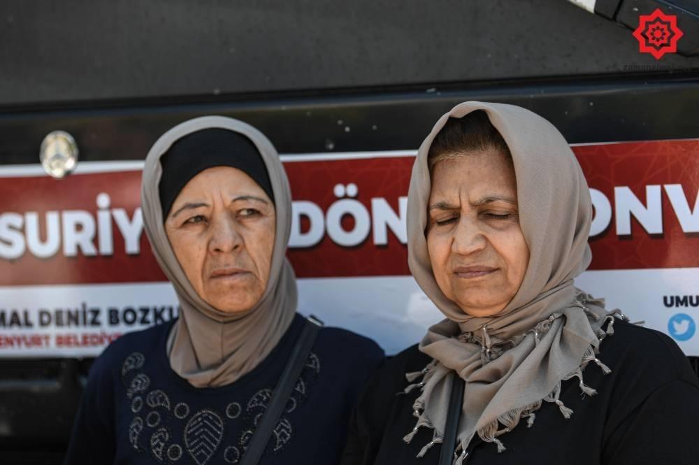 Türkiye'den Suriye'ye Geri Gönderilen Muhacirler galerisi resim 1