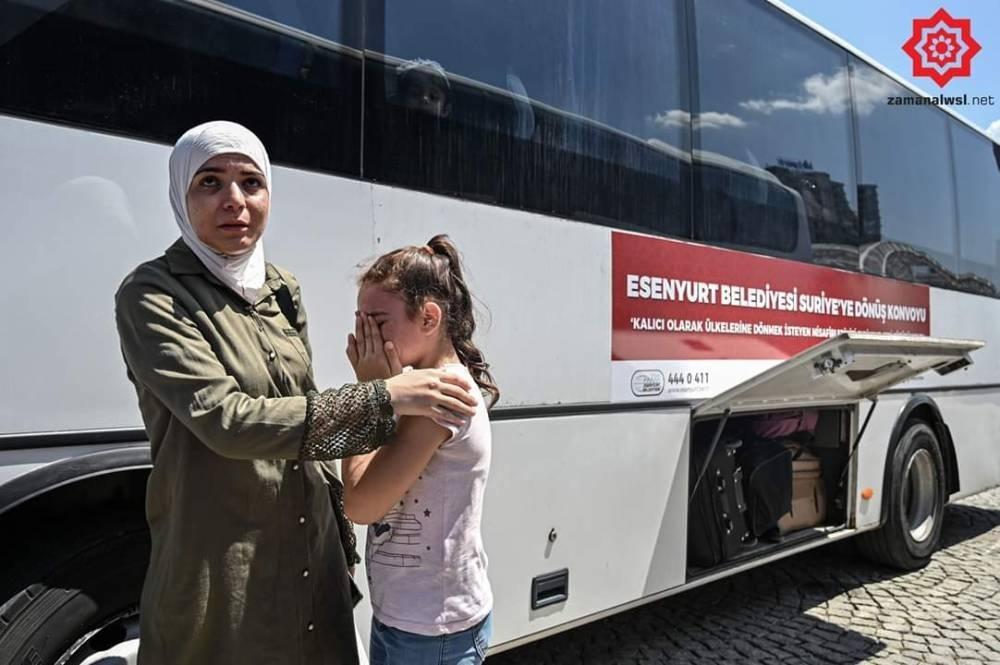Türkiye'den Suriye'ye Geri Gönderilen Muhacirler galerisi resim 9