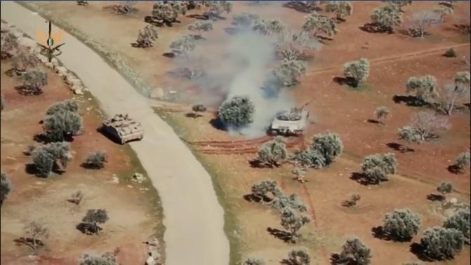 Muhalif Savaşçı Türk Zırhlısı ile Rus Tankını Kovaladı