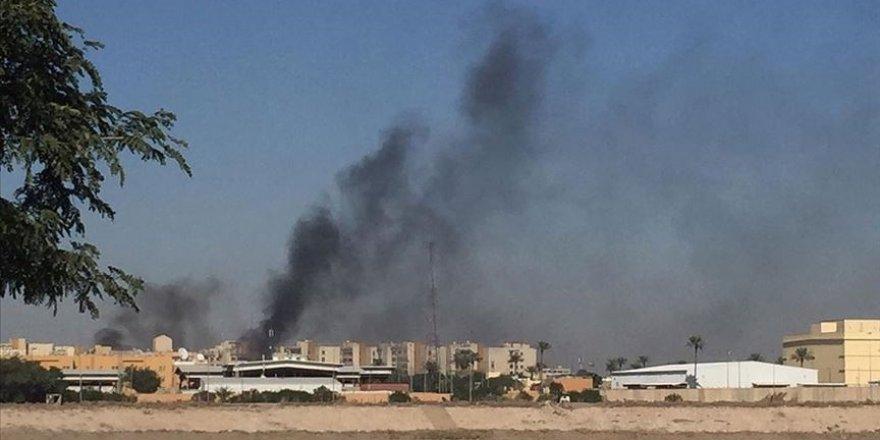 Bağdat'ta ABD Büyükelçiliğinin bulunduğu Yeşil Bölge'ye füze atıldı