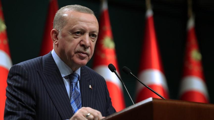 Cumhurbaşkanı Erdoğan kabine toplantısı sonrası açıklamalarda bulunuyor