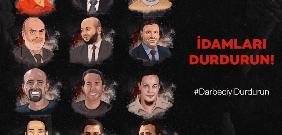 Sisi yönetimi, İhvan'ın üst düzey 10 ismini daha idam etmeye hazırlanıyor!