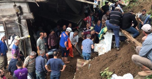 Aşırı yağışın hayatı felç ettiği Rize'de ölü sayısı 6'ya çıktı