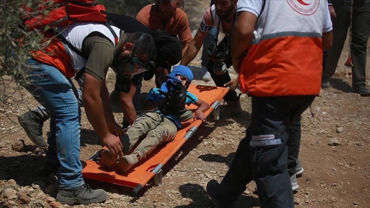 İsrail güçleri 25 Filistinliyi yaraladı