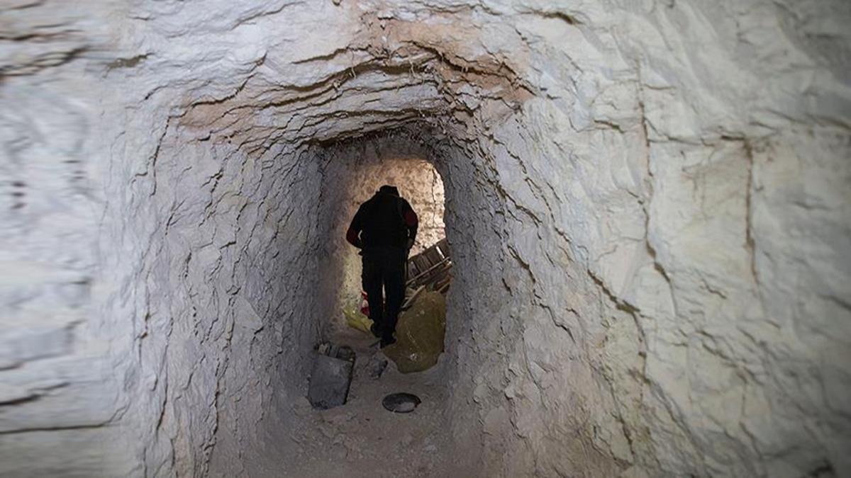 Türkiye sınırı hattında kazdıkları ortaya çıktı