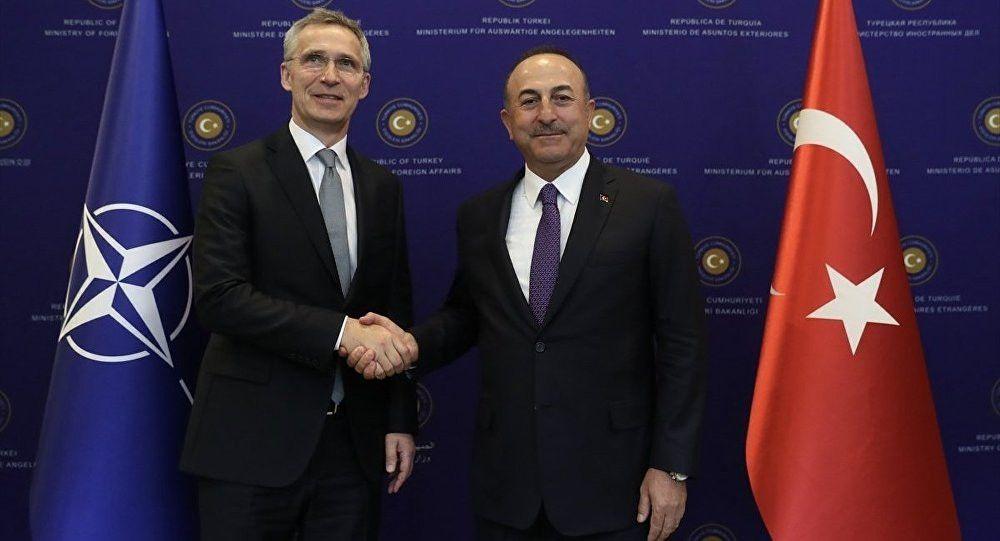 Bakan Çavuşoğlu NATO Genel Sekreteriyle görüştü