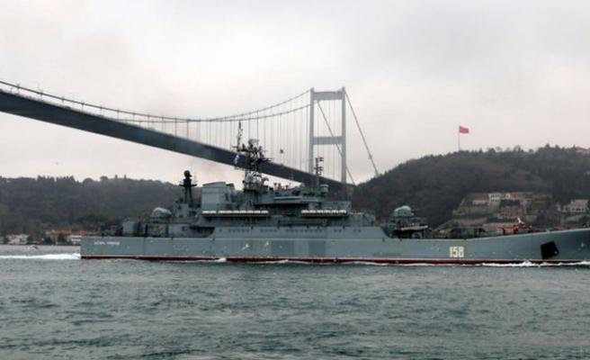 Türkiye savaş gemilerine boğazları kapatabilir