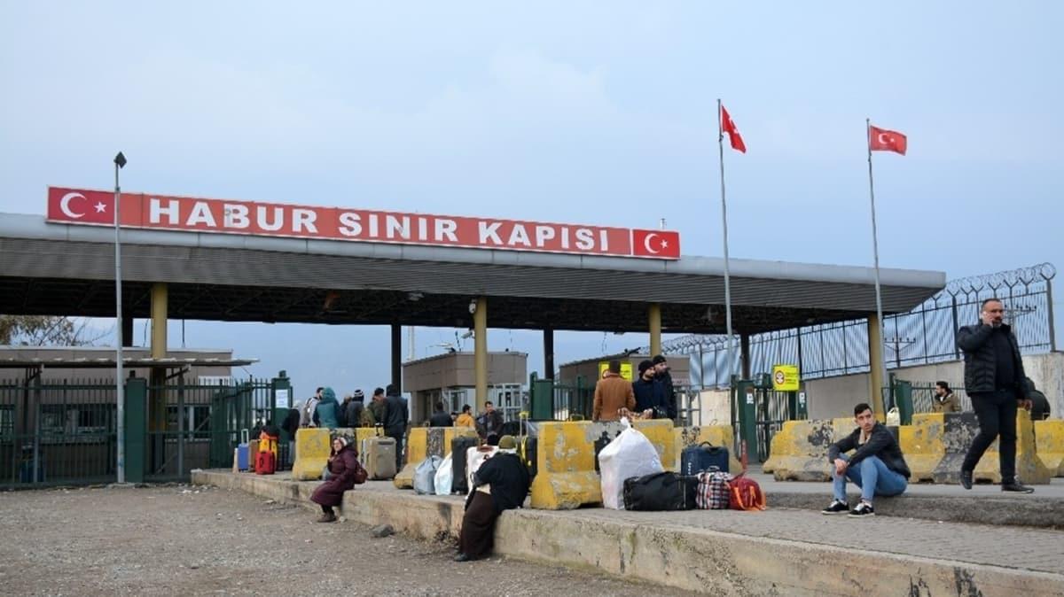 Habur Sınır Kapısı, giriş ve çıkışlara kapatıldı