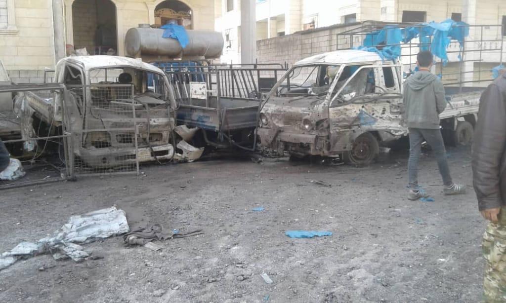 İdlib'te Can Pazarı