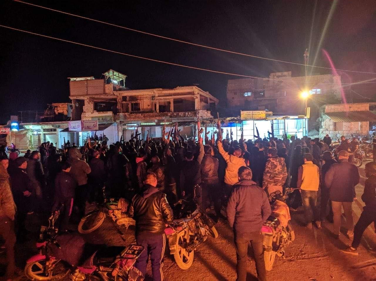 Dera'da Halk Yeniden Rejime Karşı Ayaklandı