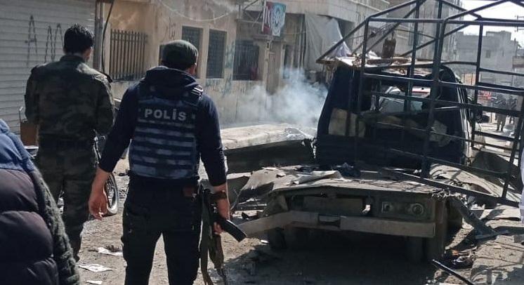 Afrin'e terör bombası