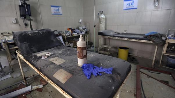 500'den fazla sağlık kurumu bombalandı