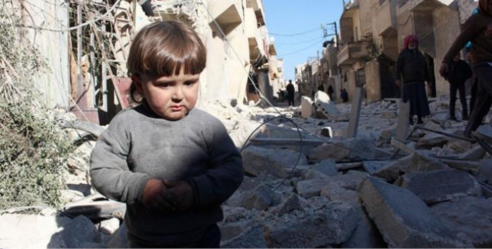 Suriye'de her 10 saatte bir çocuk ölüyor