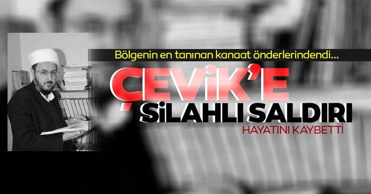 Bitlis'te kanaat önderlerinden Abdülkerim Çevik öldürüldü!