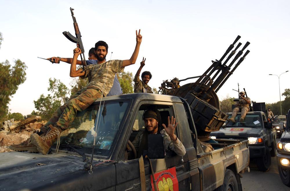 Suriye'den Hafter'e militan desteği