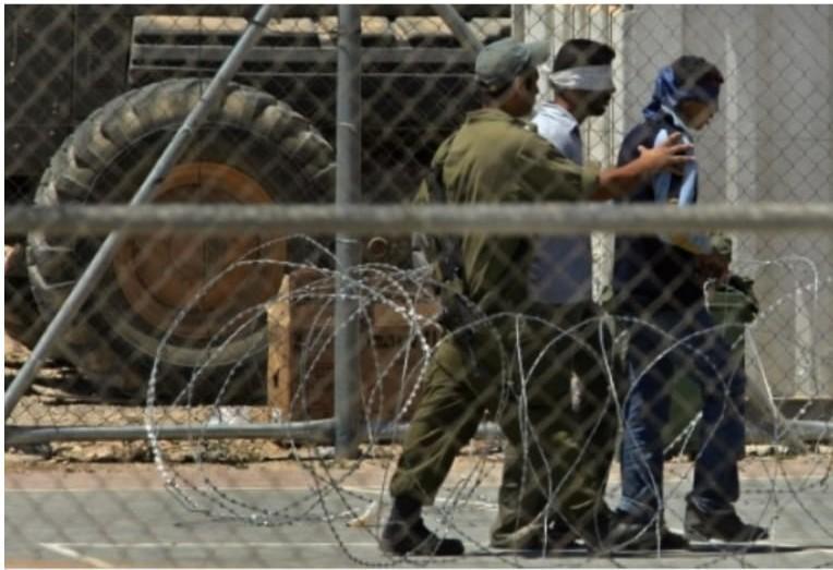 Filistinli 5 esire virüs bulaştı