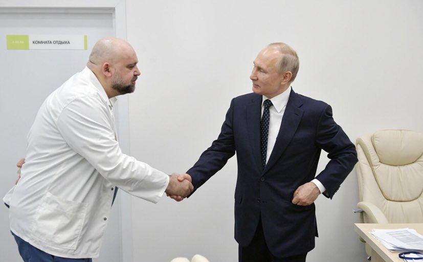 Kremlin'de panik