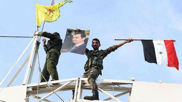 PKK militanları Esed koruması altında