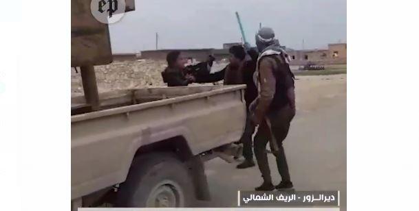 PKK'dan Deir el Zor'da sivillere meydan dayağı (Video Haber)