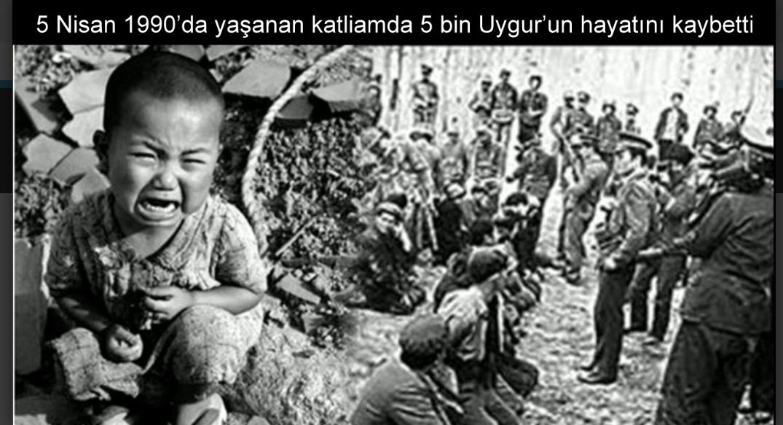 Çin 500 Müslüman Türk'ü vahşice katletti