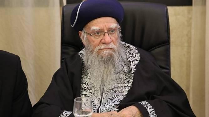 İsrail'de Haham Başı virüsten öldü