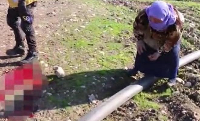 Saldırıda parçalanan oğlunun parçalarını toplayan anne!