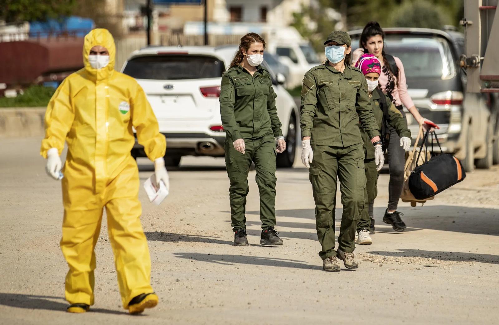PKK işgal hattında bir kişi virüsten öldü