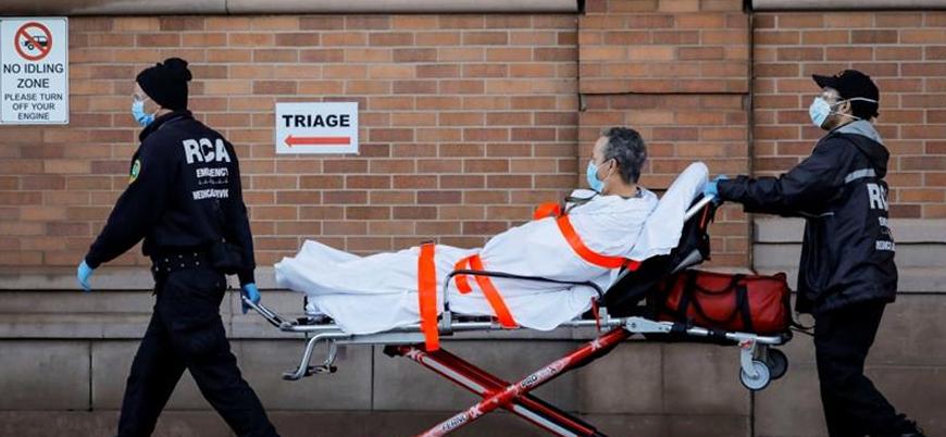 ABD'de son 1 günde 3 bin856 kişi öldü