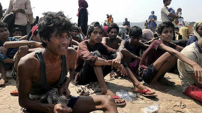 Arakanlı Müslümanların açlıkla imtihanı