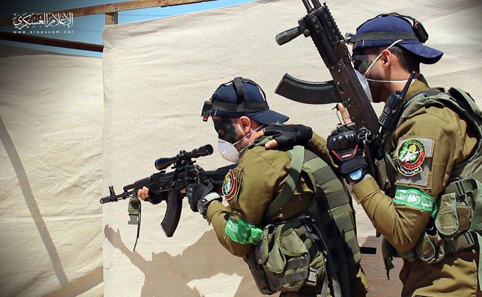 Hamas özel birliklerin fotoğraflarını yayınladı
