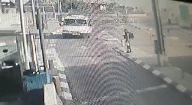 Korkusuzca Siyonist askerlerin arasına daldı (Video haber)