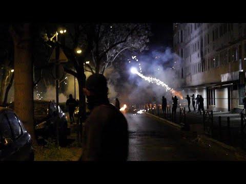 Fransa'da banlıyöler yine karıştı