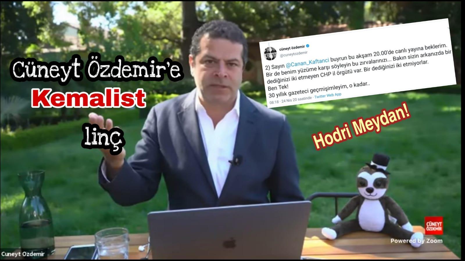 Cüneyt Özdemir'e linç kampanyası