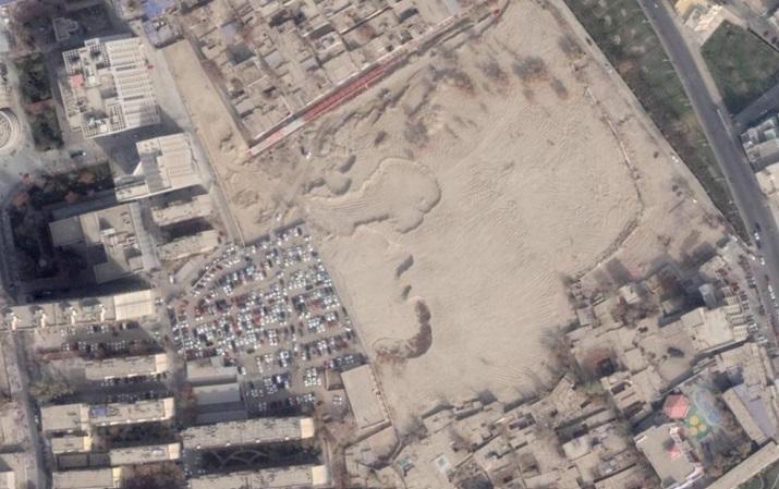 Müslüman Mezarlığını otoparka çevirdi