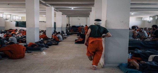 Haseke Hapishanesinde DEAŞ ayaklandı