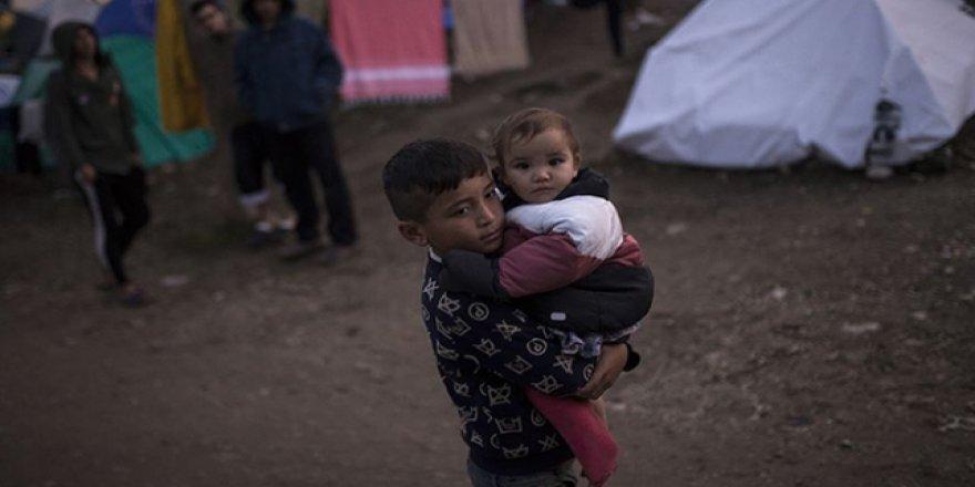 Yunanistan'da Mülteci Çocuklar Ciddi Sağlık Sorunları