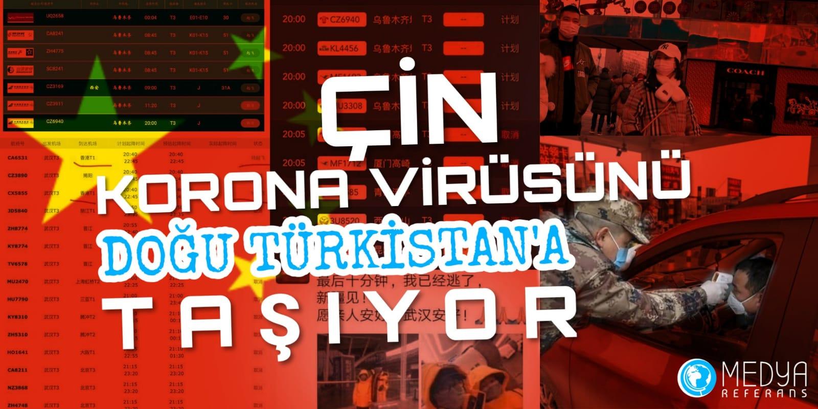 Ölümcül Virüs Doğu Türkistan'a Taşınıyor
