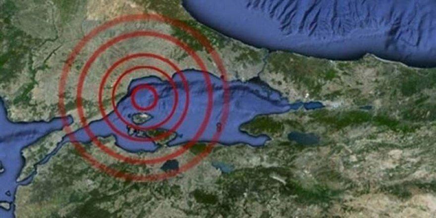 Marmara Denizi'nde Art Arda 14 Deprem