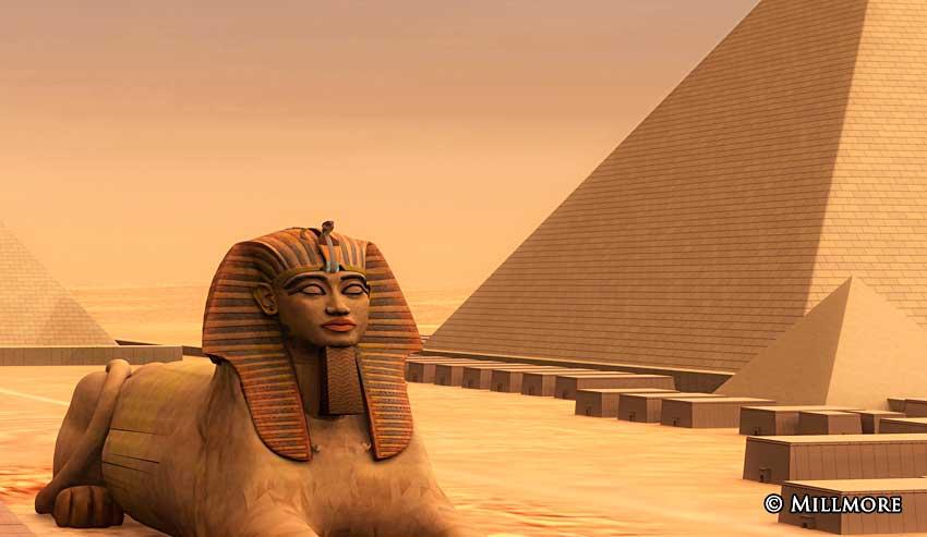 Köleliğin nişanesi piramitler de yıkılsın