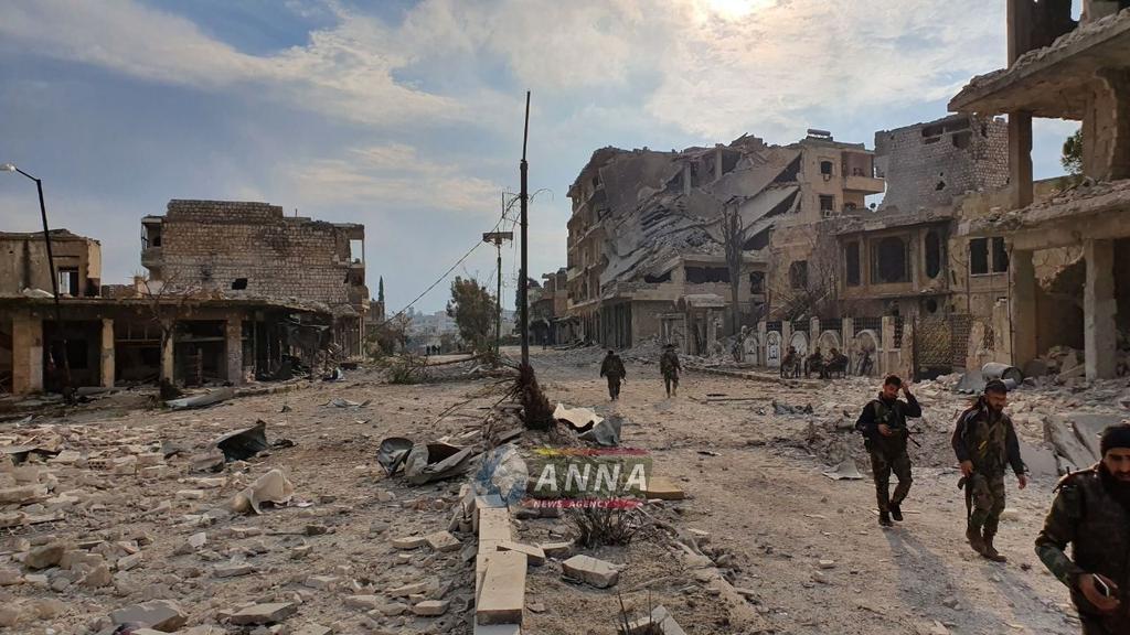 Rejim Maaret El Numan'a Girdi