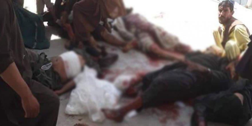 Afganistan'da hükumet güçleri pazar yerinde katliam yaptı: 20