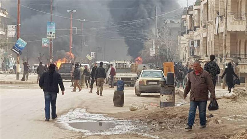Terör Afrin'i Vurdu